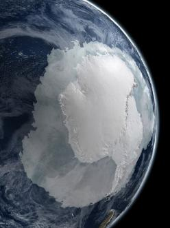 A visualization of Earth's South Pole and Antartica from NASA. Posted by Stuart Rankin.: Amazing, Photos, Spaces, Antarctica, Nature, Final Frontier, Beautiful, Places, Earth