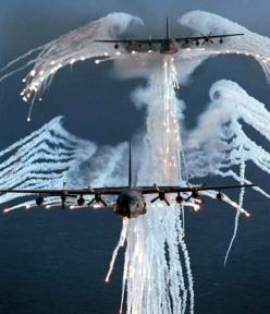 AC-130 Spectre Gunships  #AC130 #Gunship #AirForce: Airforce, Military Aircraft, Angel Wings, Airplanes, Stuff, Air Force, Angel Of Death, Air Planes, C130S Firing