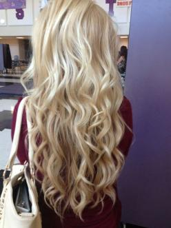 "Affordable luxury 100% virgin hair starting at $65/bundle in the USA. Achieve this look with our luxury line of Peruvian Body Wave Blonde #613 hair extensions, available in lengths 12"" - 26"". www.vipextensionbar.com email info@vipextensionbar.com:"