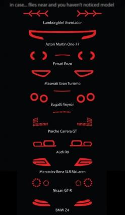 After the sound zips by you, this is what you see...: Tail Lights, Supercars, Super Cars, Auto, Night
