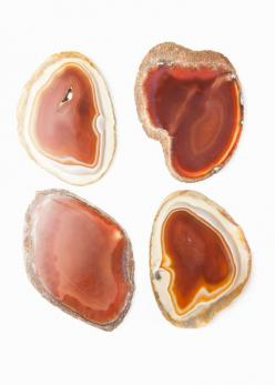 Agate Coasters - Natural by www.SoulMakes.com: Agate Jasper Marble Geode Gem, Agates, Agate Coasters