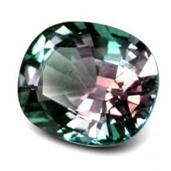 Alexandrite - either purple or green depending on whether it is viewed in natural or artificial light: Rare Gemstone, Gemstones, Gem Stones, Color, June Birthstone, Jewelry, Rock