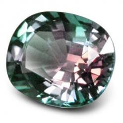 Alexandrite is a very rare stone. It was named after Alexander II of Russia as it was found on his Coming of Age Day.   Alexandrite has an unusual phenomenon - it changes color!. The finest alexandrite is a bright green but when put in candlelight or any