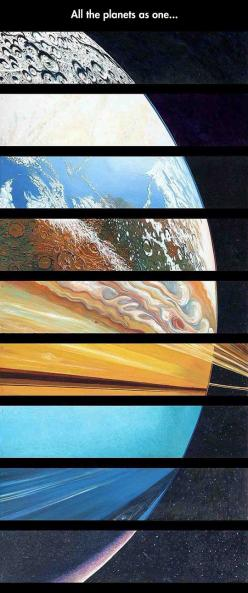 All the planets in one picture  // funny pictures - funny photos - funny images - funny pics - funny quotes - #lol #humor #funnypictures: Planets, Solarsystem, Art, Pictures, Nasa Space Picture, Solar System Picture, Science, Outer Space Quote