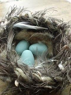 Amazing #nest tutorial by my sweet friend Karen!: Bird Nests, Craft Ideas, Felted Nest, Wee Bird, Robins Egg