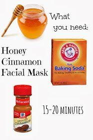 Ambiguously Me: Honey Cinnamon Face Mask: A Facial You Can Eat: Skincare, Beauty Tips, Skin Care, Facial Masks, Cinnamon Face, Facemask, Honey Cinnamon, Face Masks, Homemade Facial Mask