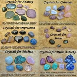 Amethyst helps calms my stress induced anxiety when nothing else works. I use tourmaline effectively to keep myself strengthened against negativity when my nerves are bad.: Gemstone, Crystals Gems, Healing Crystals, Crystals Stones, Healing Stones, Wicca,