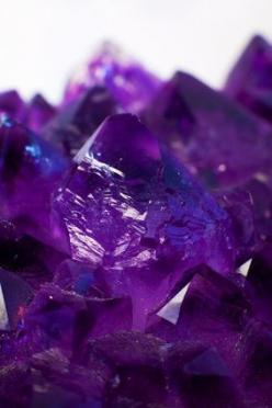 "Amethyst is a violet variety of quartz often used in jewelry. The name comes from the Ancient Greek ἀ a- (""not"") and μέθυστος methustos (""intoxicated""), a reference to the belief that the stone protected its owner from drunkenness. The anc"