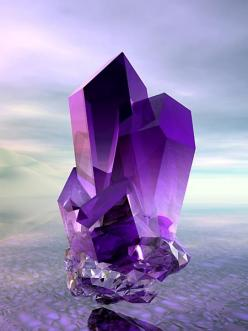 Amethyst...Worn to prevent drunkenness in ancient times. Promotes love of the divine. Encourages selflessness & spiritual wisdom. Enhance memory and improves motivation. Helps balance emotional highs and lows. A natural tranquilizer, it helps to block