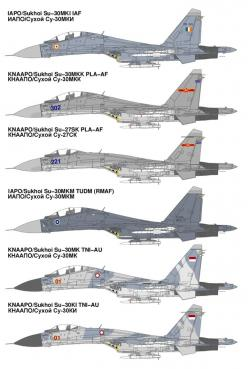 Asia's Su-27/30 Variants    Sukhoi's T-10 Flanker family of combat aircraft is without doubt the outstanding design in the final generation of Soviet Cold War era systems. Since the fall of the USSR, the Flanker has continued to evolve and is now