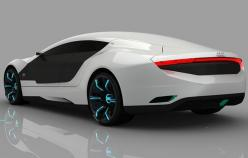 Audi A9 concept car, paint changes colors: A9 Concept, Audi Concept, Audi A9, Vehicle, Dream Cars, Concept Cars