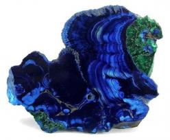 Azurite and Malachite from Arizona    peacock mineral!: Crystals, Gemstones, Precious Stones, Gem Stones, Blue, Arizona, Rocks, Minerals