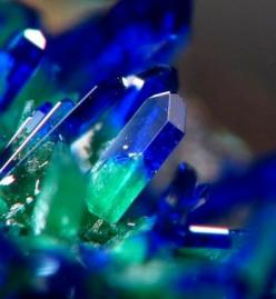 Azurite. This is a wonderful and very powerful gem, among it's many uses it is known to be excellent in spiritual healing as well as aid in intuition. I just love the intense color. Lots of Love to all: Replacing Azurite, Crystals, Gemstones, Malachit