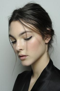Backstage at Dolce & Gabbana, Fall 2014.: Face, Make Up, Dolce Gabbana, Cat Eye, Style, Makeup, Dolce & Gabbana, Beauty, Hair