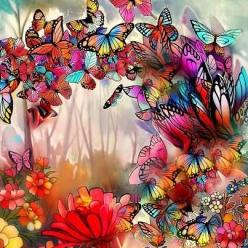 BEAUTIFUL BUTTERFLIES: Beautiful Butterflies, Butterfly Art, Fantasy Art, Flutter, Artistic Items, Dragonflies