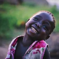 Beautiful child. Loving the confidence :-)  Head thrown back, lovely smile and great skin. ♡: Little Girls, Beautiful Children, Beauty, Young Girl, Smile, People, Photo, Black