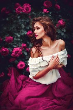Beautiful Photographs by Svetlana Belyaeva: Rose, Inspiration, Color, Beauty, Artistic Fashion Photography, Svetlana Belyaeva
