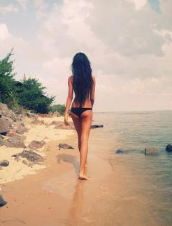Beautiful Women with Amazing Hair: Body, Beaches, Inspiration, Girl, Long Hair, Motivation, Summer, Bikini, The Beach