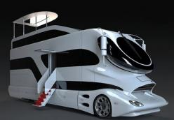 believe it, it's an RV !!! it looks like a sportcar, yatch and rv rolled up into a extremely nice package!! wow is the word.: Rv S, Sport Cars, Luxury Rv, Palazzo Luxury, Rv Rolled