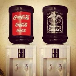 Best idea for a wedding reception. No need to pay a bartender!: Office, Man Cave, Wedding Ideas, Funny, Jack O'Connell, Dream Wedding, Things, Drinks, Jack Daniels
