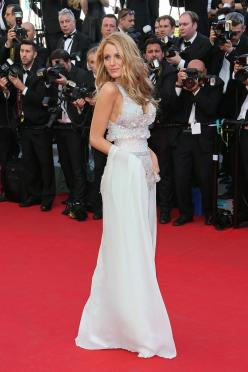 Blake Lively's best looks from Cannes (so far). Here, she wears Chanel Couture and a Lorraine Schwartz ring. See more on Vogue.com.: Chanel Couture, Celebrity Style, Fashion, Cannes, Redcarpet, Blake Lively, Dress, Red Carpet, Blakelively