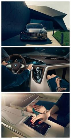 BMW has unveiled Vision Future Luxury, a saloon concept car featuring augmented display technology. Click to find out more. #spon #luxury: Luxury Cars, Beauty Cars, Cars Machine, Amazing Things, Cars Motorbikes, 2015 Quotes, Cars Motorcycles Yachts, Luxur