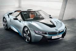 BMW i8 Spyder Concept - 131 hp electric motor to drive the front wheels, a 223 hp turbocharged gas three-cylinder powering the rear wheels.: I8 Concept, Bmwi8, Bmw I8, Concept Spyder, Cars, Spyder Concept, I8 Spyder, I8Spyder
