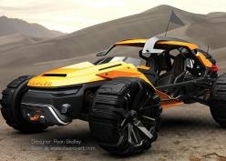 Bowler Raptor - Concept Sunbeam Tiger Electric Offroader | Ryan Skelley: Bowler Raptor, Conceptcars, Raptor Concept, Vehicle, Cars Motorcycle, Concept Cars, Raptors