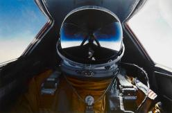 Brian Shul in the cockpit of the SR-71 Blackbird: Pilots, Cockpit, Sr 71 Blackbird, Blackbird Pilot, Sr71, Space, Photo, Brian Shul