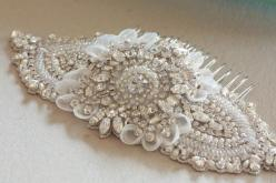 Bridal headpiece - keela: Hair Accesories, Wedding Hair Combs, Bridal Headpieces, Bridal Millinery Headpieces, 1920S Hair Headress, Wedding Hairs, Wedding Dress, Dream Wedding, Hair Accessories