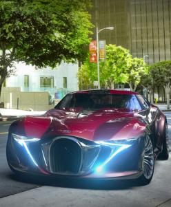 Bugatti Type X7S Concept [Futuristic Cars: http://futuristicnews.com/category/future-transportation/]: Concept Futuristic, Bugatti Type, X7S Concept, Concept Cars, Concept Automobile, Photo, Bugatti X7S, Type X7S, Futuristic Cars