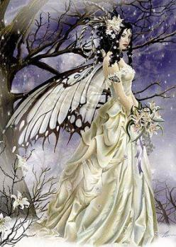 butterfly wings -- [REPINNED by All Creatures Gift Shop]: Fairies, Fantasy Art, Nenethomas, Bride, Faerie, Nene Thomas
