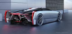 Cadillac Estill, a futuristic super car concept  - http://sploid.gizmodo.com/if-darth-vader-had-a-car-it-would-be-this-cool-cadilla-1581884724/+jesusdiaz: Vehicles, Concept Cars, Cadillac Concept, Concepts, Automotive Design