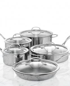 Calphalon Tri-Ply Stainless Steel 10 Piece Cookware Set: Cookware Set, Tri Ply Stainless, Calphalon Tri Ply, Piece Cookware, Shops, 10 Piece, Kitchen, Stainless Steel