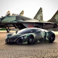Camo Marussia B2. Russian manufacturer with a Cosworth motor.: Picture, Camo Marussia, Cars Rvs Organization, Cars Motos Speed, Camo Cars, Super Cars, Luxury Luxurycars, Cars Bikes Andeverythingnice, Photo