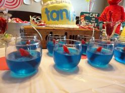 Cat in the Hat Jello Dr. Seuss Party: Cat, Seuss Party, Dr Suess, Party Ideas, Dr Seuss, Birthday Party, Birthday Ideas