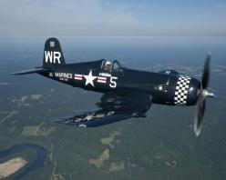 Chance Vought F4U-5 Corsair. I've seen this particular plane in person several times - always impressive.: Aviation, Legends Chance, F4U 5N Corsair, F4U Corsair, War Birds, Vought F4U 5N, Planes Aircraft