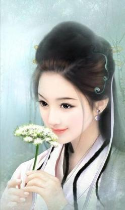 Chinese Art  I got the goddess of mercy and healing. Woohoo!: Art Chinese Paintings, Beautiful, Digital Art, Chinese Art, Chinese Girls, Beauty, Asian Art, China, Oriental Art