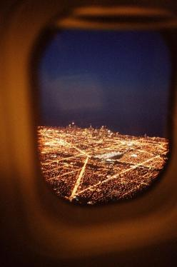 city lights from above: Adventure, City Lights, Travel, Places, Airplane Window, Planes, Photography