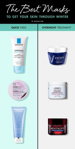 Cold weather can wreak havoc on your skin, so we know you've been upping your skincare routine until winter is over. To treat your seasonally irritated and flaking skin, we've rounded up some of the BEST masks to get you through this harsh winter.: Sk