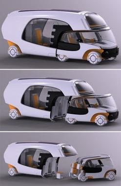 Colim Concept: car and camper in one  This is cool!: Idea, Campers, Caravan, Rv S, Future, Colim Concept, Things, Concept Cars, Design