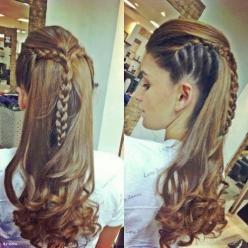 cool crown braid - Hairstyles and Beauty Tips: Idea, Hairstyles, Hair Styles, Makeup, Braid, Braids