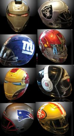 Custom motorcycle helmets http://www.airgraffix.com/  Would love to have a FSU helmet!: Bike, Custom Motorcycle Helmets, Motorcycles Helmets, Cool Motorcycle Helmets, Cool Custom Motorcycle, Helmets Motorcycle