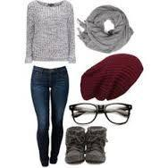 cute outfits for middle school girls - Google Search: Clothings Outfits, Style, Cute Outfits, Google Search, Fall Outfits, Beanie, Spring Outfit, School Outfits