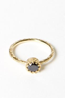 Dainty Everyday Rings: Everyday Ring, Blingbling, Black Diamond, Dainty Ring, Elegant Style