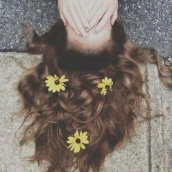 Daisy head: Picture, Hairstyles, Girl, Inspiration, Hair Styles, Beautiful, Beauty, Flowers, Photography