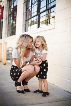 Didn't really read the baby names, l just think the picture is adorable!: Fashion, Girl, Matching Outfit, Daughters, Kids, Baby, Mom