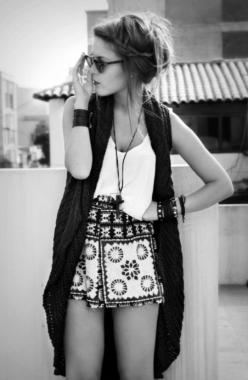 digging the shorts: Outfits, Fashion, Clothes, Summer, Styles, Closet, Boho, Hair, Wear