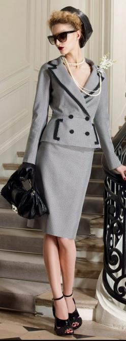 DIOR: Resort 2010: Christian Dior, Resorts, Fashion Week, Woman Suit, 2010 Collection, Style Com