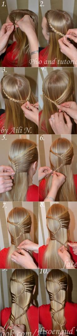 DIY Cool S Hairstyle | www.FabArtDIY.com LIKE Us on Facebook ==> https://www.facebook.com/FabArtDIY: Awesome Hairstyles, Hair Styles, Hairstyle Tutorials, Cool Hairstyle, Cool And Easy Hairstyles, Braided Hairstyles, Cool Braid Tutorial, Diy Hairstyles